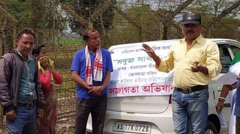 NGO creates awareness in Indo-Bangla border villages
