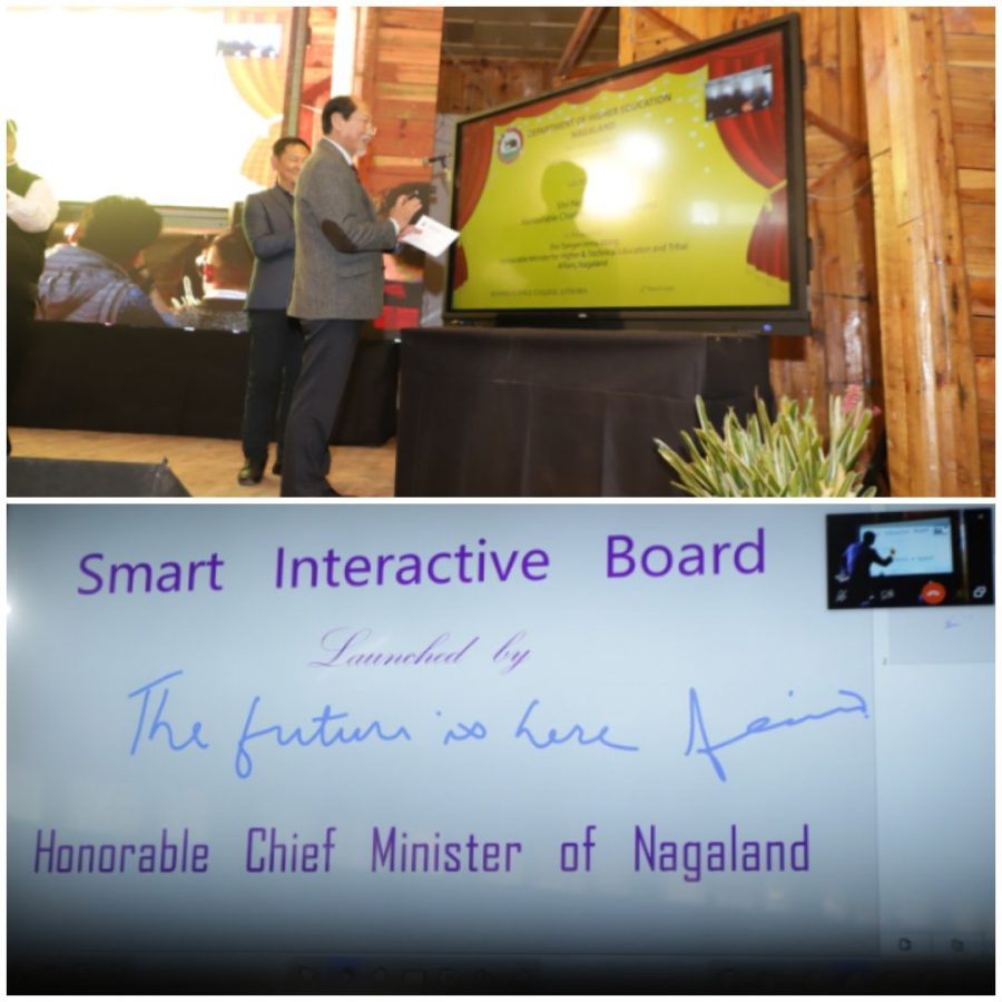 Nagaland launches Interactive Digital Smart Board for Smart Classrooms