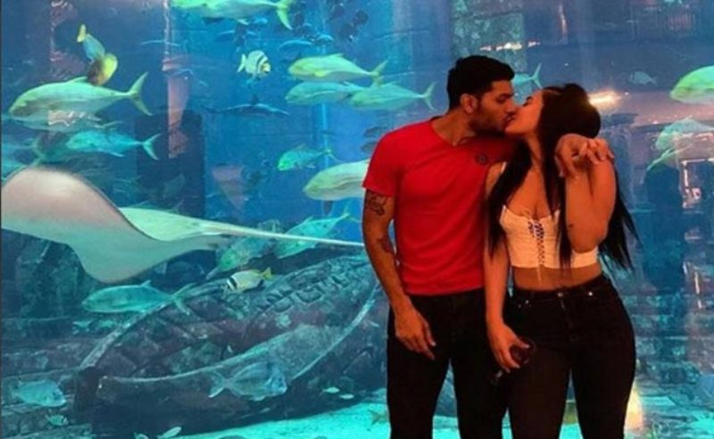 Tiger Shroff's sister locks lips with beau Eban Hyams