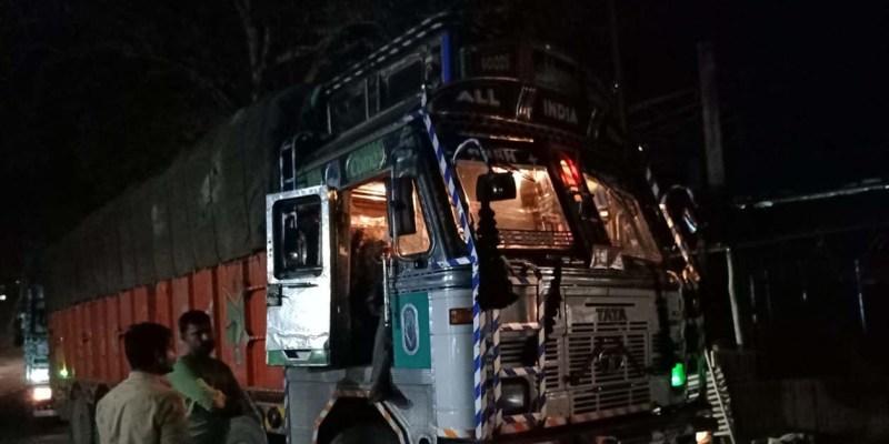 Dry fish-laden trucks arrive in Jagiroad