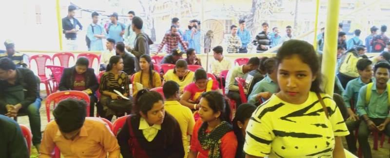 Unique initiative for job mela at ITI Srikona near Silchar