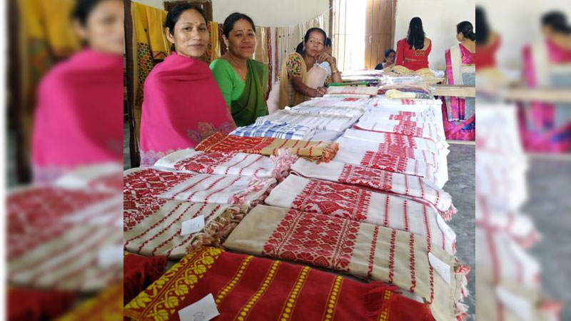 Awareness camp on weaving and textile held at Demow