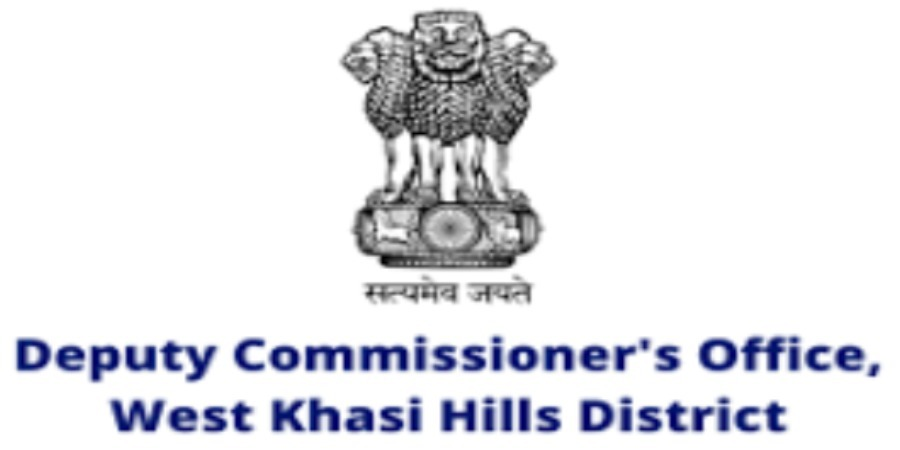 Deputy Commissioner's Office, recruitment for various posts at West Khasi Hills