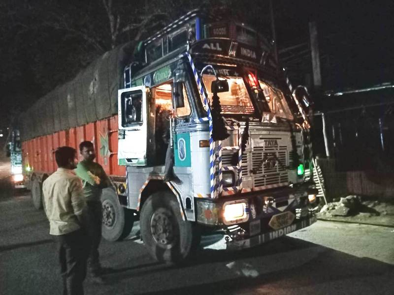 Two truckloads of Burmese Supari seized at Dillai Check post along Assam-Nagaland border