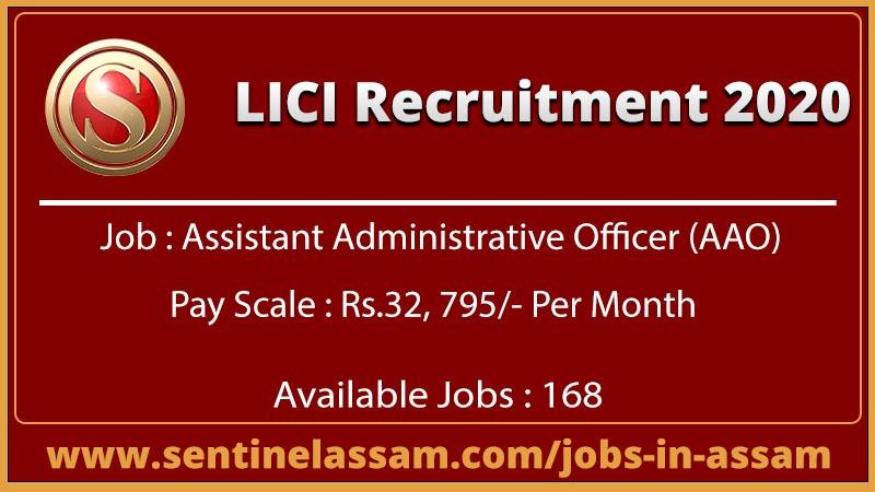 LICI Recruitment 2020