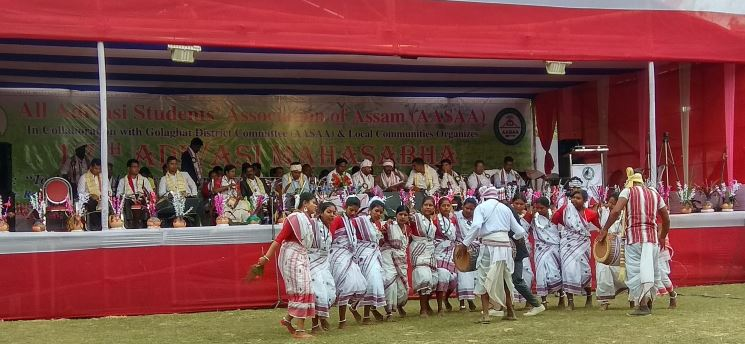 Three-day-long 17th Adivasi Mahasabha concludes in Golaghat district