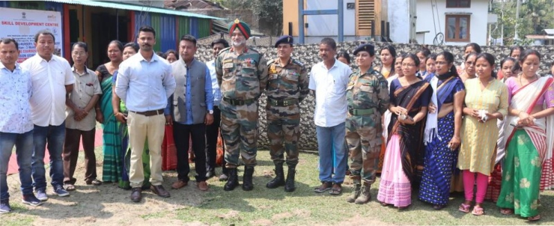 Indian Army dedicates vocational centre for Tinsukia youths