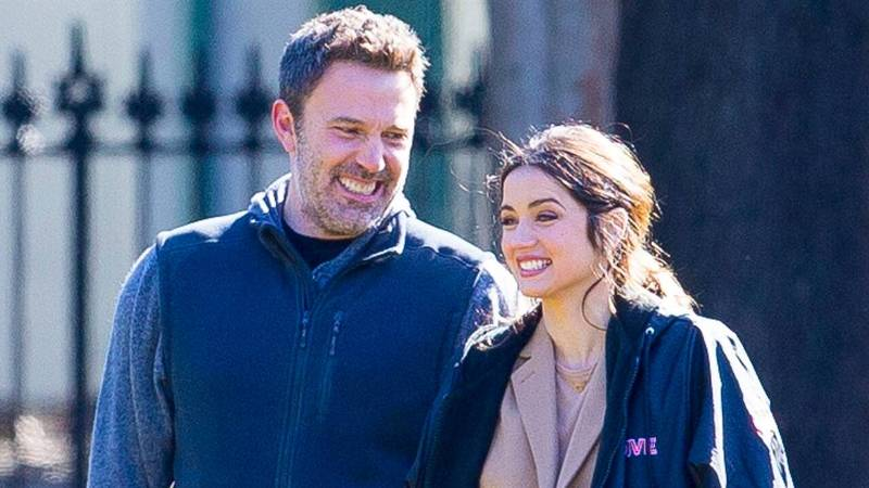 Hollywood star Ben Affleck spotted getting cozy with Ana de Armas