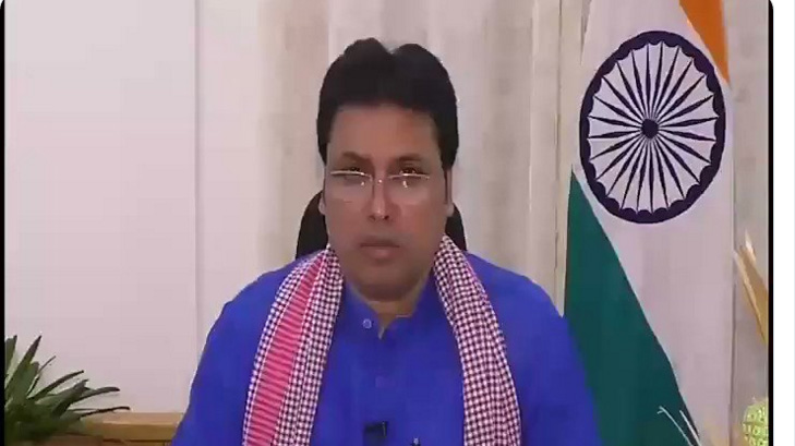 Tripura: State has become corona free, says Chief Minister Biplab Kumar Deb