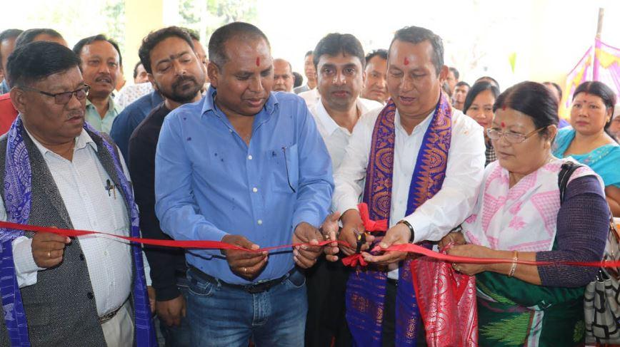 Kokrajhar Revenue Circle building inaugurated by BTC Executive Members