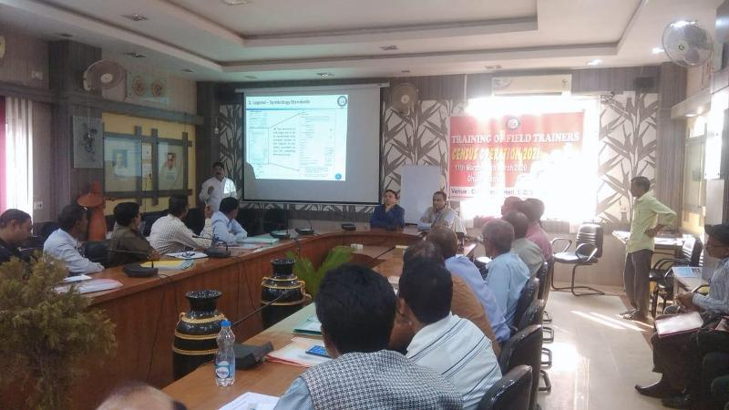 Census works reviewed by Assam Director Census Operation in Dhubri