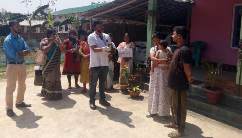 Goalpara district administration organized Door-to-door awareness campaign on coronavirus