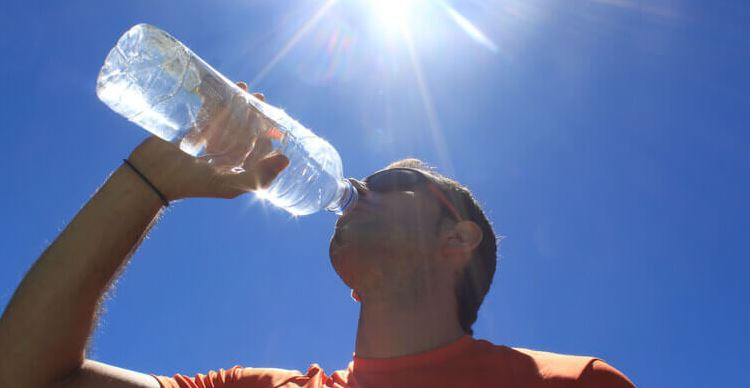 Avoid dehydration and water loss this summer, says an expert