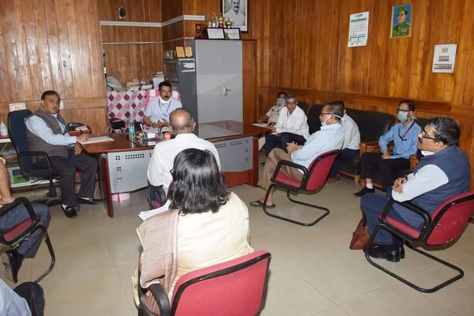 COVID-19 update: Himanta Biswa Sarma visits Silchar Medical College and Hospital