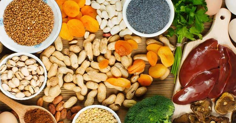 Five foods to eliminate iron deficiency