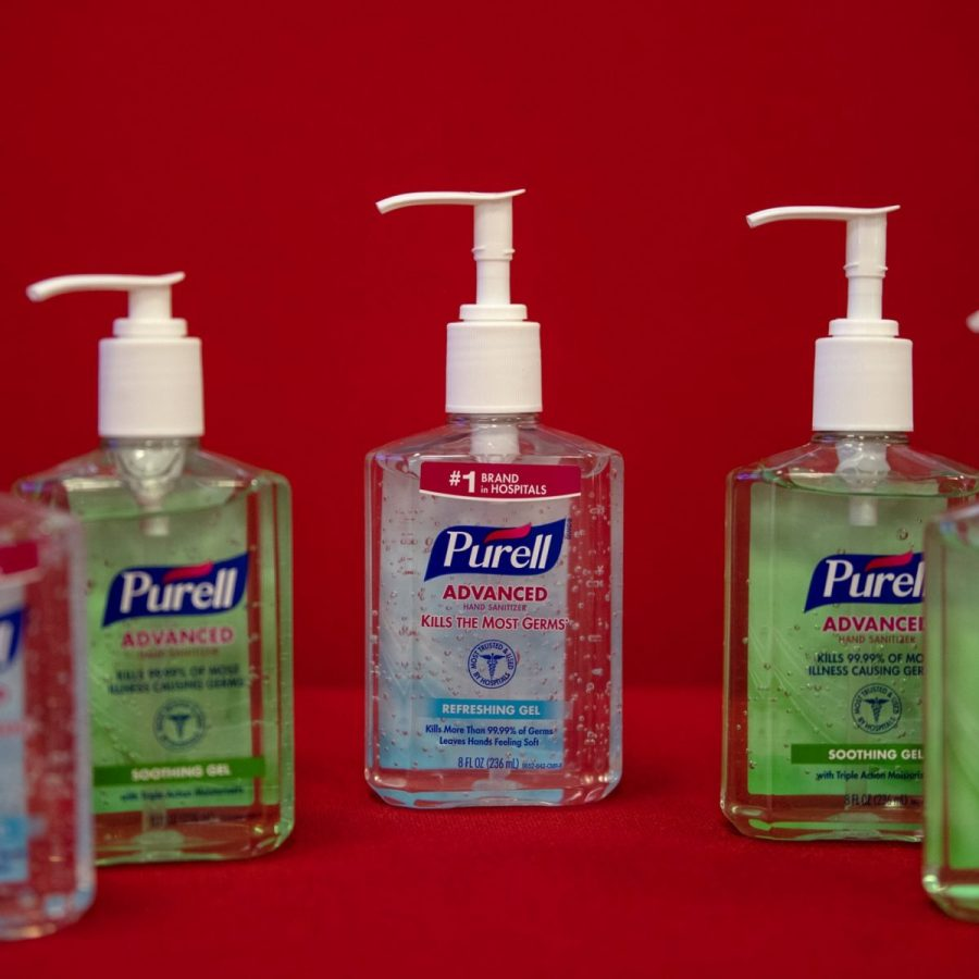 Hand sanitizers can prove effective against germs, but there are some risks