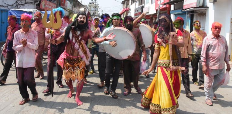 Holi celebrated with fervour and gaiety across Assam