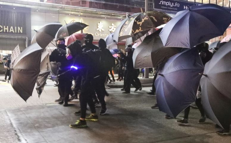Hong Kong police arrest 115 over anti-government protest violence