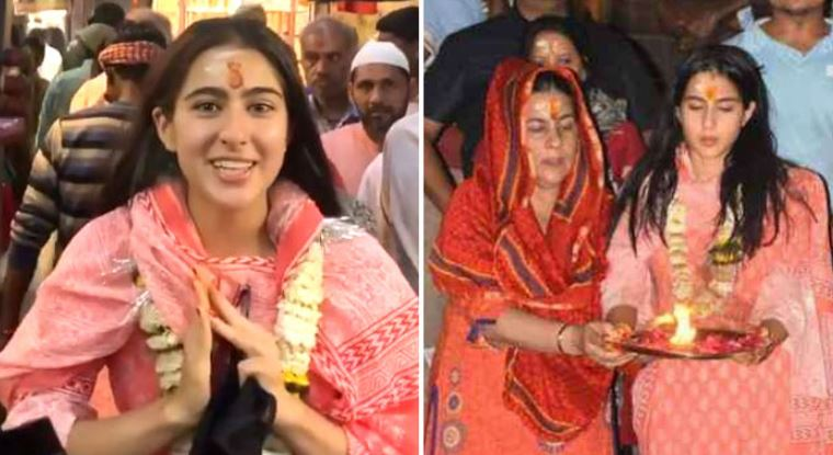 Bollywood actor Sara Ali Khan's Varanasi temple visit creates controversy