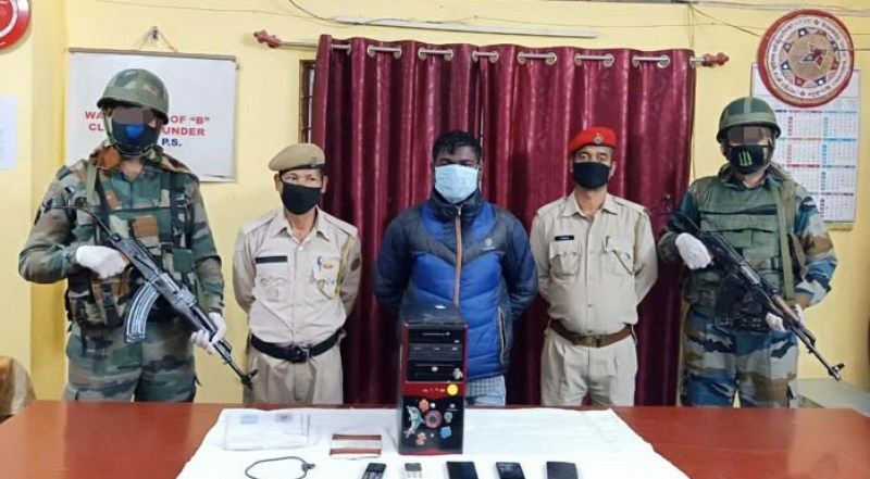 Army, Assam Police apprehended 14 miscreants from Six districts of Assam