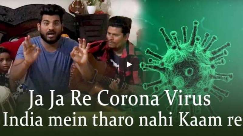 A desi song on coronavirus gets Rajasthani twist