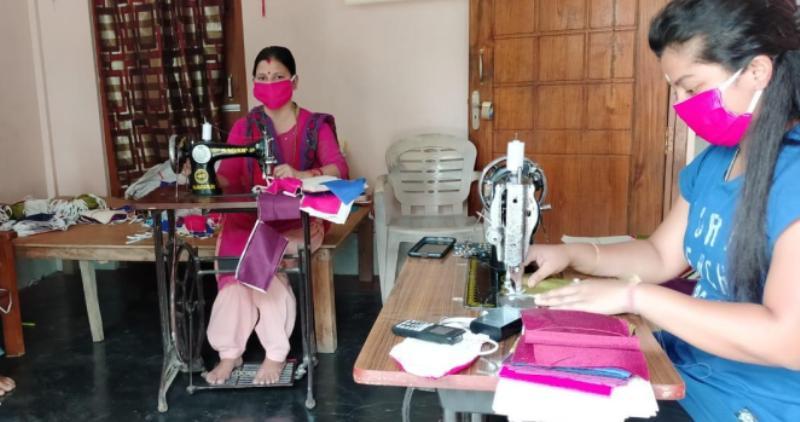 Coronavirus outbreak: Hailakandi SHG chips in to address shortage of masks