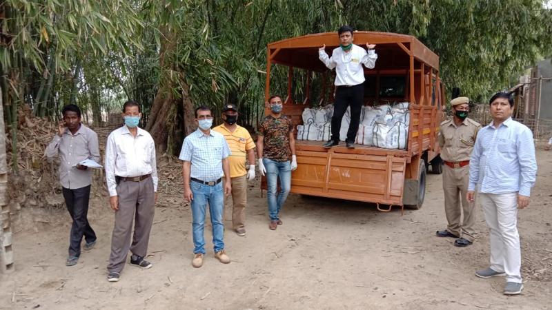 COVID-19 lockdown:  Rotary Club, Duliajan distributes food items among needy