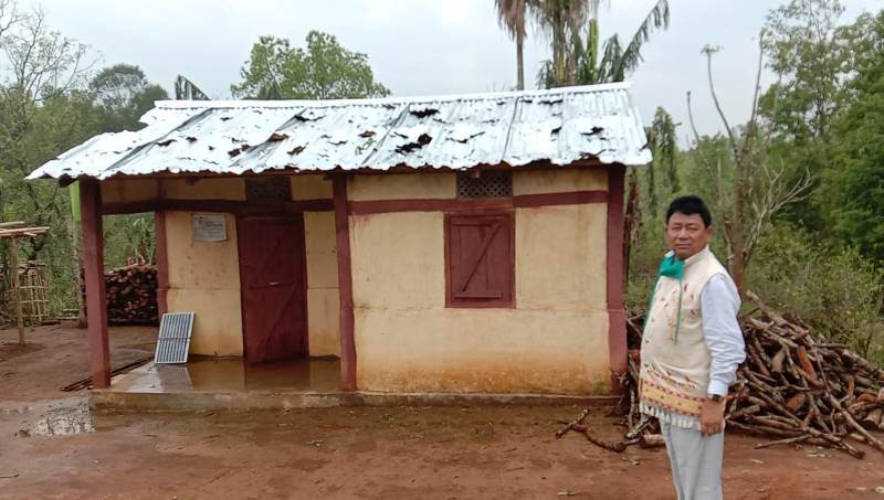Hailstorm causes extensive damage in Karbi Anglong