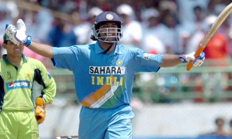 This day in 2005: MS Dhoni announced his arrival in International Cricket