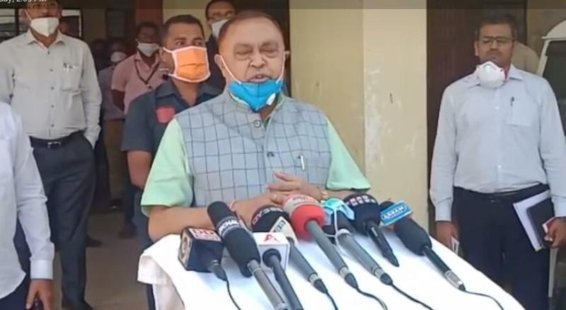 Textile Minister Ranjit Dutta reviews COVID-19 preparedness of Lakhimpur