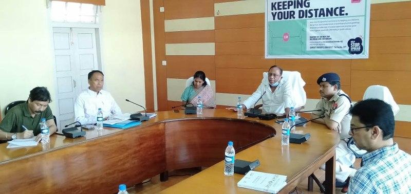 Minister Parimal Suklabaidya takes stock of COVID-19 preparations in Hailakandi