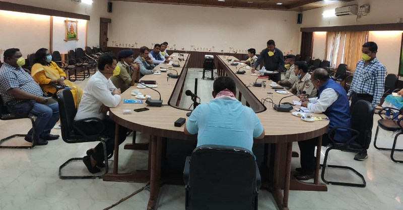 Key reconciliation meeting held between Tinsukia and Namsai district administrations
