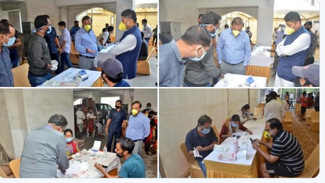 Assam govt. starts Rapid Antibody tests at Spanish Garden in Guwahati
