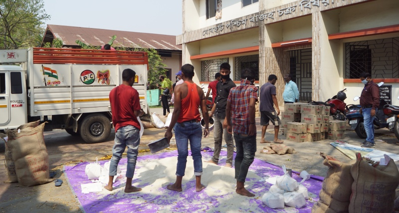 Jorhat district administration gears up for distribution of essential items