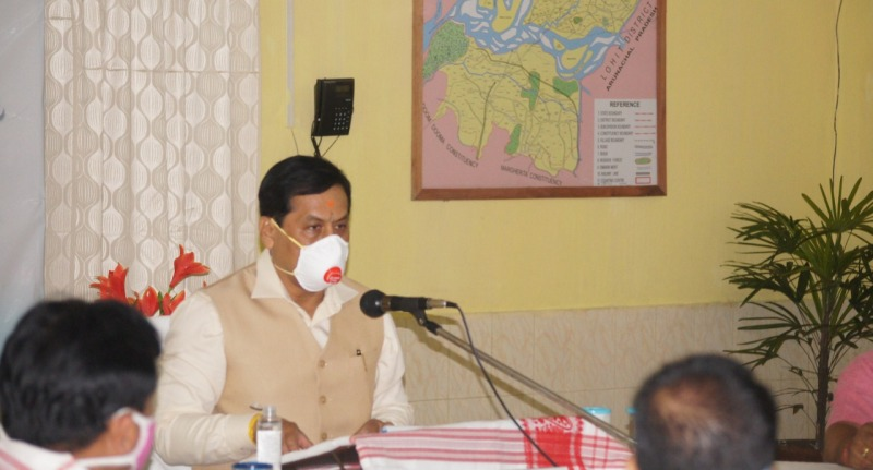 Take extra care of farmers, Chief Minister Sarbananda Sonowal tells Tinsukia district administration