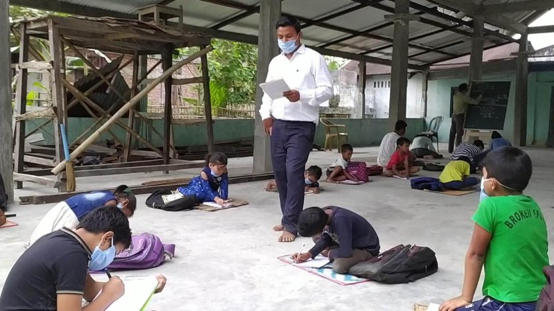 Teaching programme initiated during lockdown in North Lakhimpur