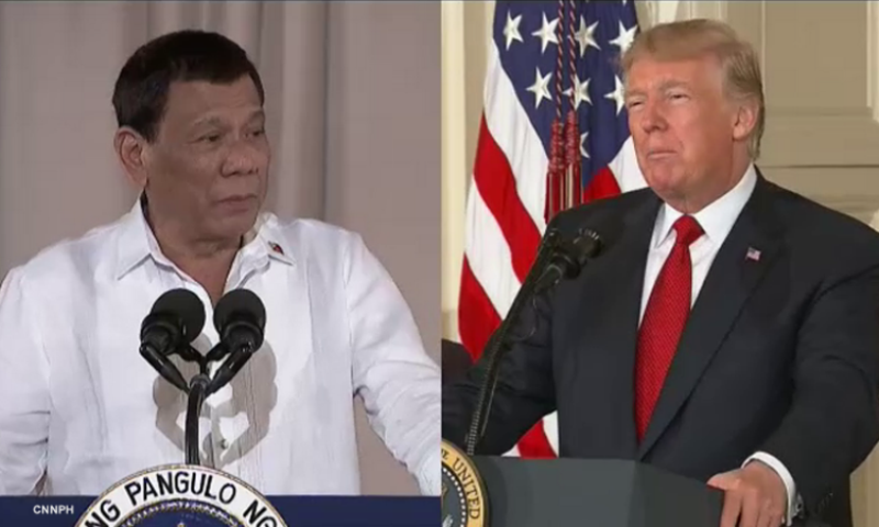 US President Donald Trump, Rodrigo Duterte discuss cooperation in COVID-19 pandemic