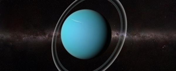 Uranus' unusual properties due to ancient giant icy impact