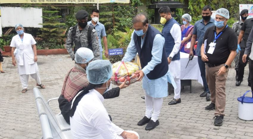 Assam in a comfortable position, says Health Minister Himanta Biswa Sarma