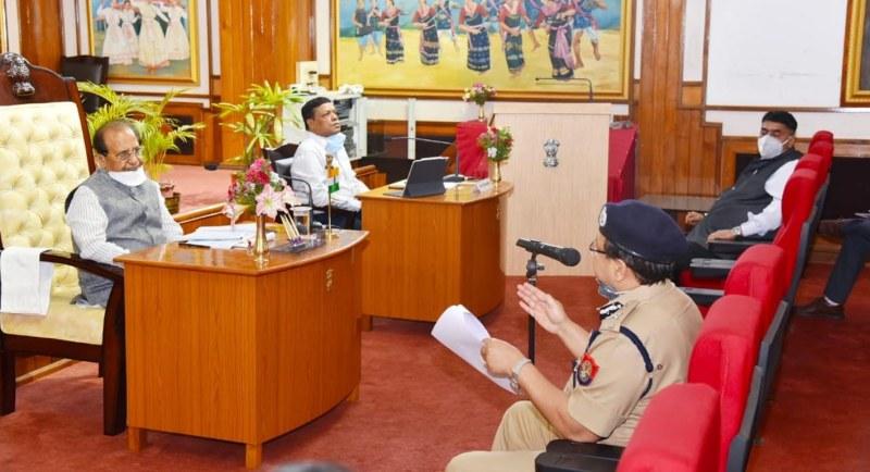 Assam Governor Professor Jagdish Mukhi reviews COVID-19 situation in Guwahati