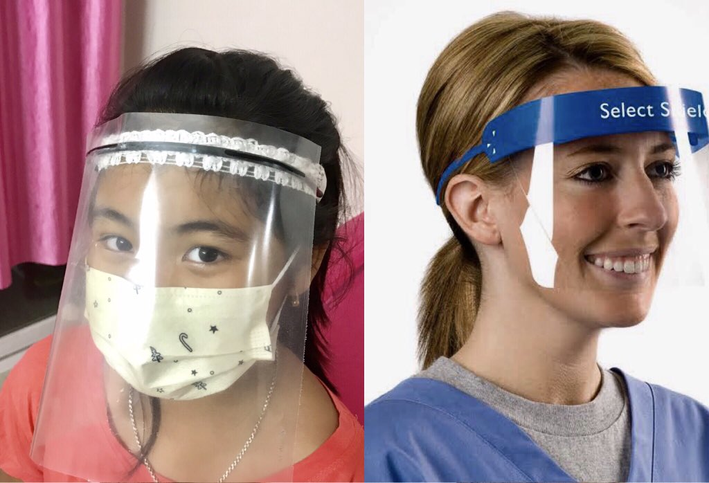 8-year-old climate activist Licypriya of Manipur designs safety face shields for doctors