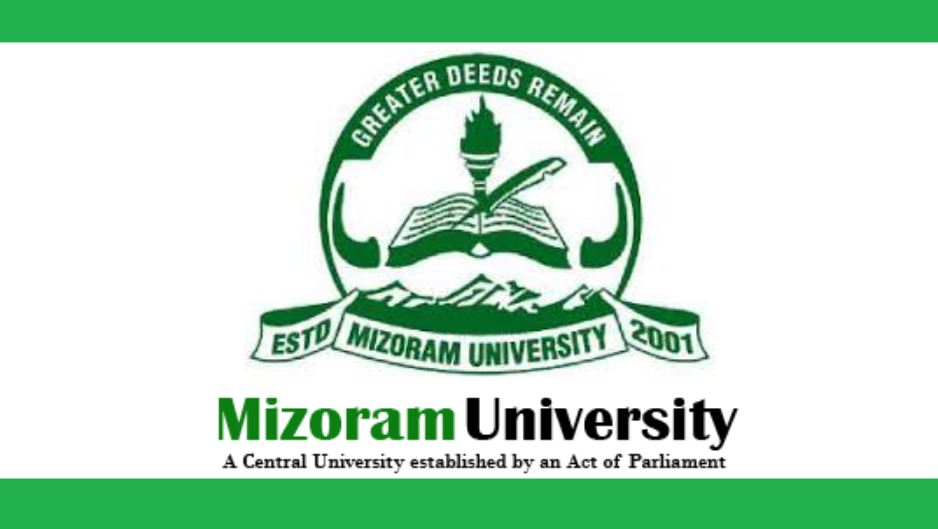 Mizoram University Recruitment 2020 for Assistant Professor