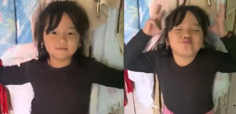 Arunachalee girl through social media appeals to people to stay at home during lockdown