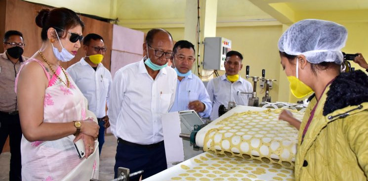 Manipur launches locally produced rice papad